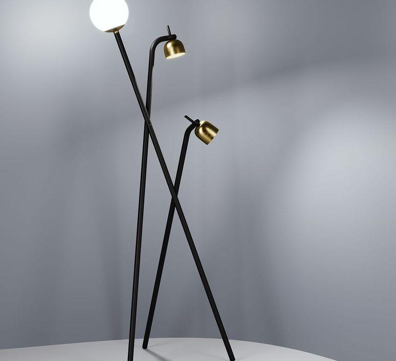 Tripod front design lampadaire floor light  fontanaarte 4398n   design signed 39312 product