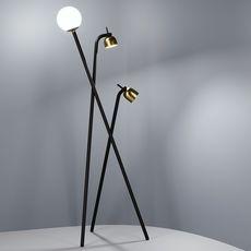 Tripod front design lampadaire floor light  fontanaarte 4398n   design signed 39312 thumb