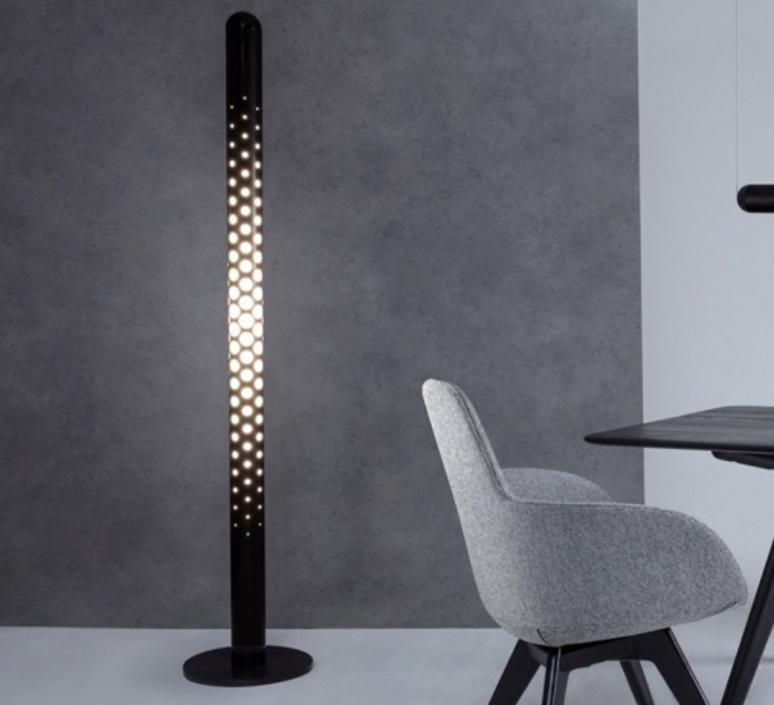 Tube ip44  lampadaire floor light  tom dixon tf01blkeu  design signed 38400 product