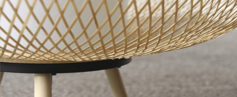 Lampadaire twiggy egg naturel o60cm h70cm ay illuminate normal