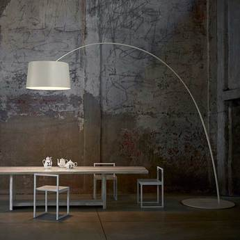 Lampadaire twiggy grege dimmable l60cm h195cm foscarini normal
