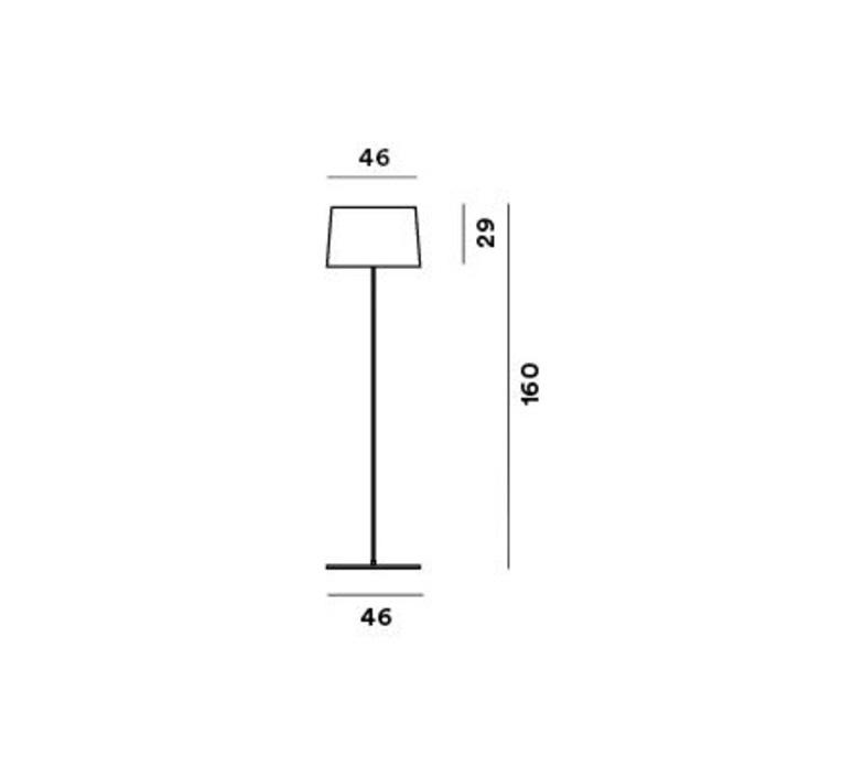 Twiggy lettura marc sadler lampadaire floor light  foscarini 15900420  design signed nedgis 84794 product