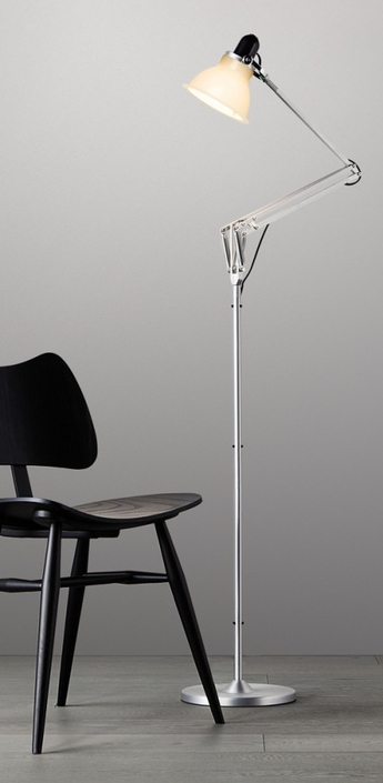 Lampadaire type 1228 blanc h138cm anglepoise normal