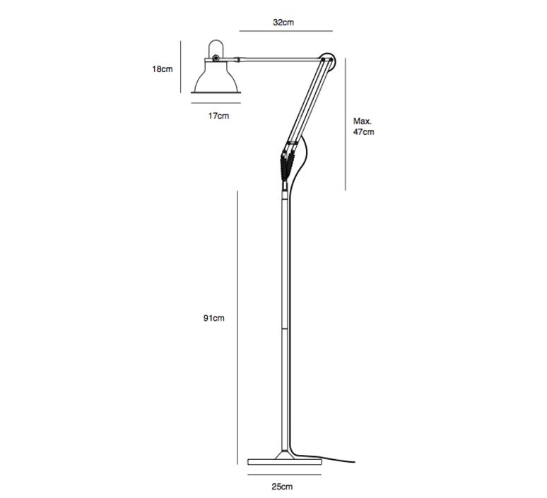 Type 1228 sir kenneth grange anglepoise 30497 luminaire lighting design signed 26426 product