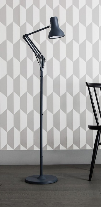 Lampadaire type 75 noir h154cm anglepoise normal
