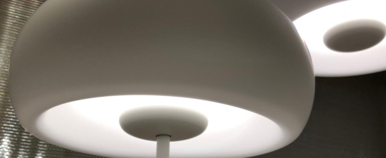 Lampadaire vetra blanc led o25 3cm h25 3cm marset normal