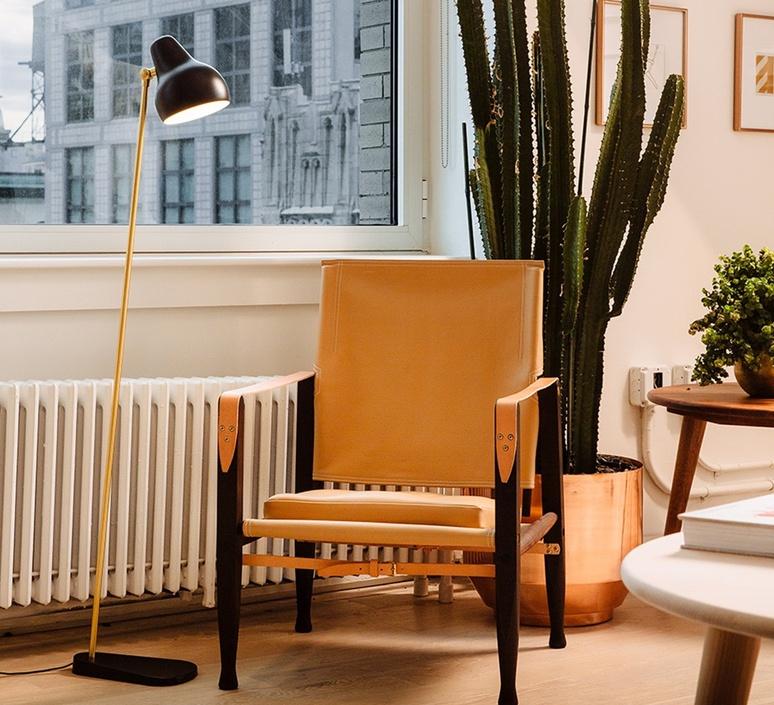 Vl38 vilhelm lauritzen lampadaire floor light  louis poulsen 5744163208  design signed 118600 product