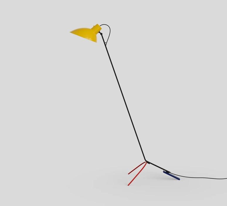 Vv cinquanta vittoriano vigano lampadaire floor light  astep t02 f21 01by  design signed nedgis 78661 product