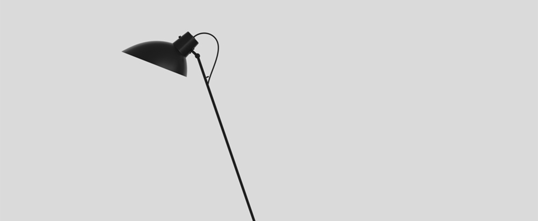 Lampadaire vv cinquanta noir o27 4cm h147cm astep normal