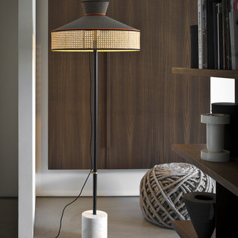 Lampadaire wagasa taupe led o65cm h172cm gebruder thonet vienna gmbh normal
