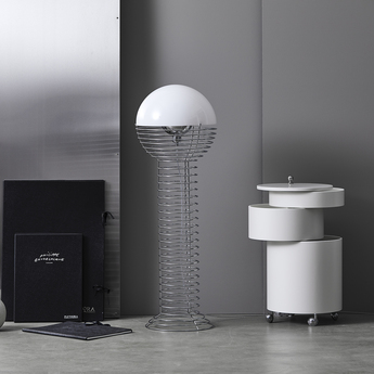 Lampadaire wire blanc o40cm h120cm verpan normal
