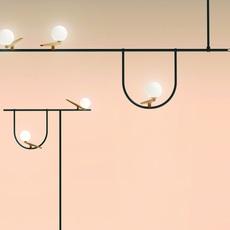 Yanzi 2 neri et hu lampadaire floor light  artemide 1102010a  design signed 43102 thumb
