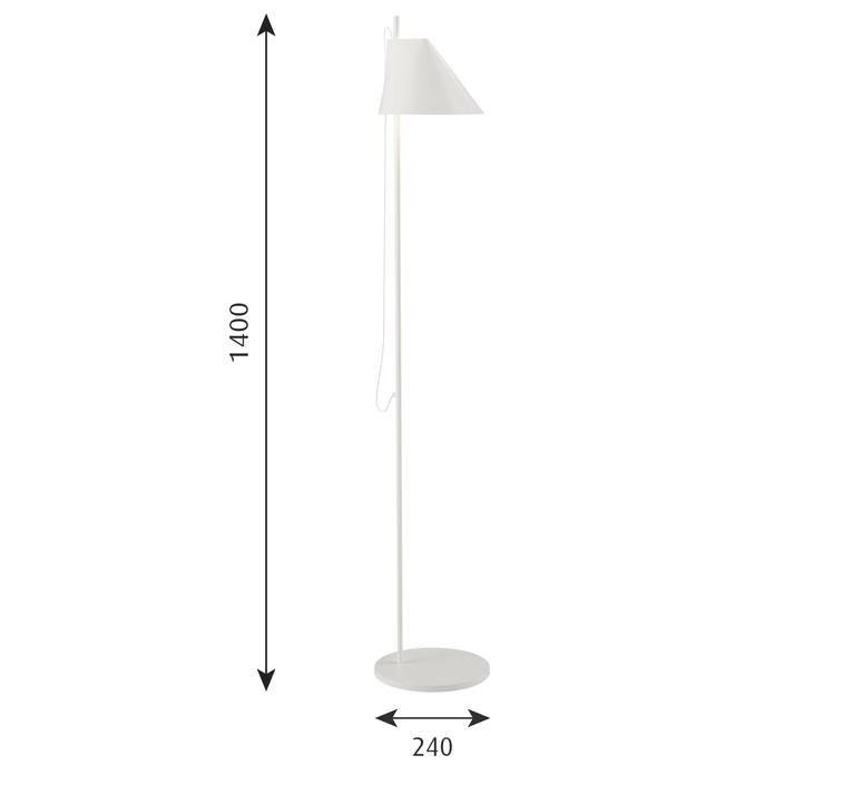 Yuh gamfratesi lampadaire floor light  louis poulsen 5744612542  design signed 49041 product