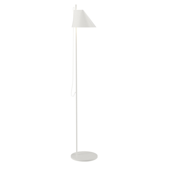 Lampadaire yuh blanc led l24cm h140cm louis poulsen normal