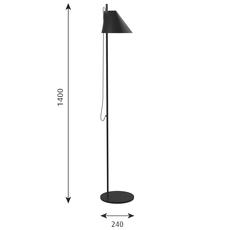 Yuh gamfratesi lampadaire floor light  louis poulsen 5744612539  design signed 49044 thumb