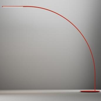 Lampadaire yumi rouge o250cm fontana arte normal