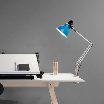 Lampe a pincer type 1228 bleu marine h53cm anglepoise normal