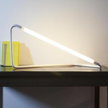 Lampe a poser 001 blanc led l20cm h45cm naama hofman normal
