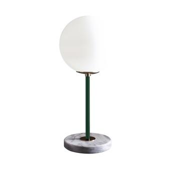 Lampe a poser 06 version 1 marbre de carrare vert pin o22cm h50cm magic circus editions normal