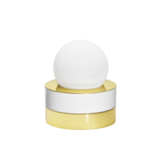 1 01 sophie gelinet et cedric gepner lampe a poser table lamp  haos 1 01 blanc  design signed 41695 thumb