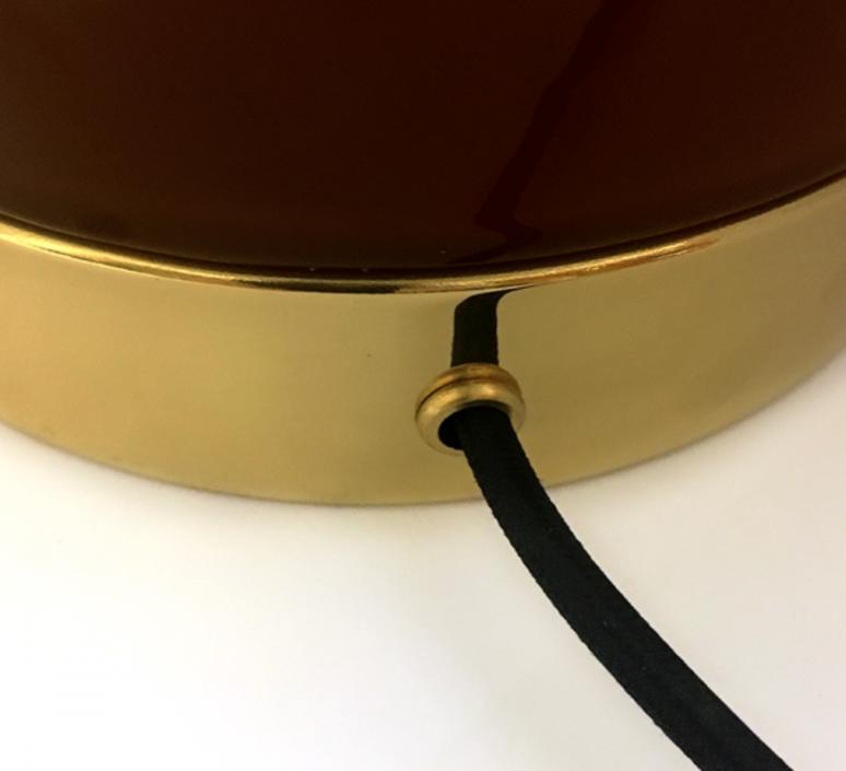 1 01 sophie gelinet et cedric gepner lampe a poser table lamp  haos 1 01 cognac  design signed 41700 product