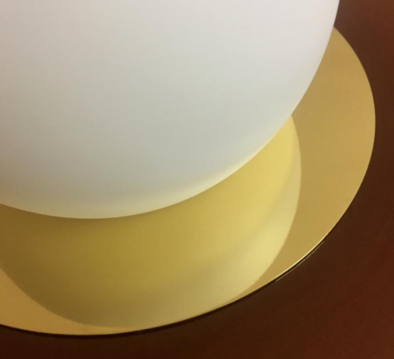 1 01 sophie gelinet et cedric gepner lampe a poser table lamp  haos 1 01 cognac  design signed 41701 product