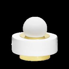 1 02 sophie gelinet et cedric gepner lampe a poser table lamp  haos 1 02 blanc  design signed 41595 thumb