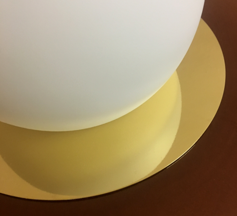 1 03 sophie gelinet et cedric gepner lampe a poser table lamp  haos 1 03 cognac  design signed 41634 product