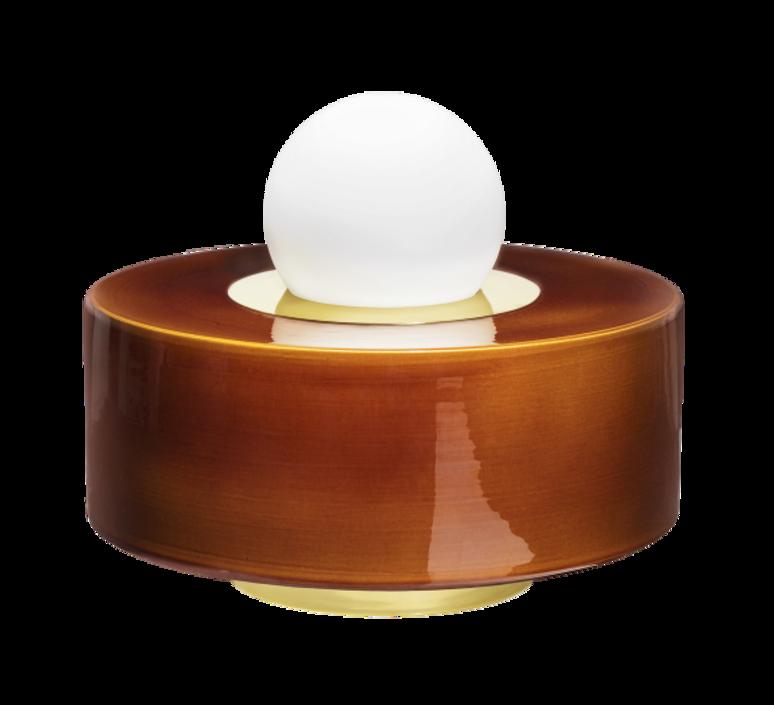 1 03 sophie gelinet et cedric gepner lampe a poser table lamp  haos 1 03 cognac  design signed 41635 product