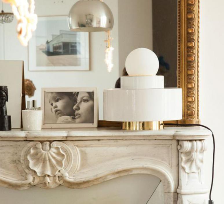 1 04 sophie gelinet et cedric gepner lampe a poser table lamp  haos 1 04 blanc  design signed 41664 product