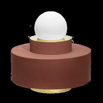 Lampe a poser 1 04 brique led o34cm h34cm haos normal