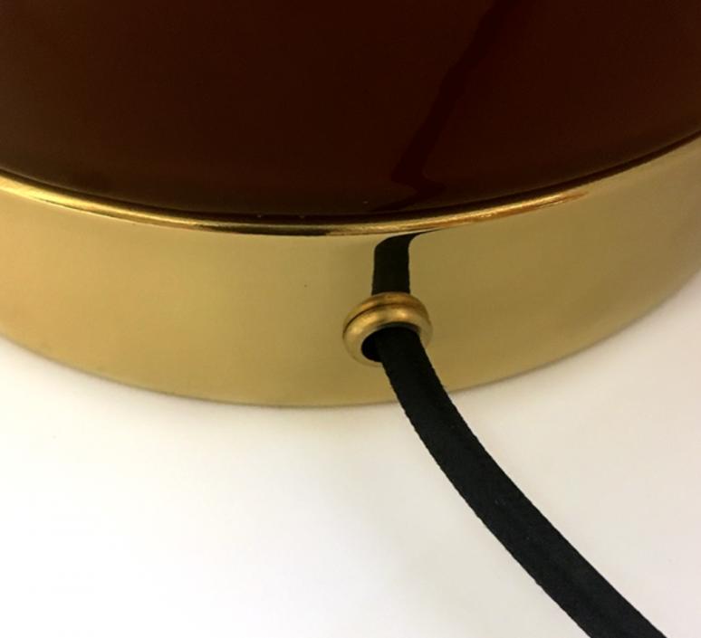 1 04 sophie gelinet et cedric gepner lampe a poser table lamp  haos 1 04 cognac  design signed 41669 product