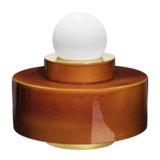 1 04 sophie gelinet et cedric gepner lampe a poser table lamp  haos 1 04 cognac  design signed 41670 thumb