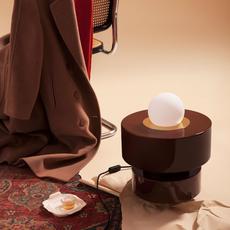 1 05 sophie gelinet et cedric gepner lampe a poser table lamp  haos 1 05 cognac  design signed 42490 thumb
