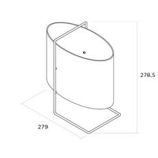 1021 chrome roger fatus lampe a poser table lamp  disderot 1021 ch  design signed nedgis 82984 thumb
