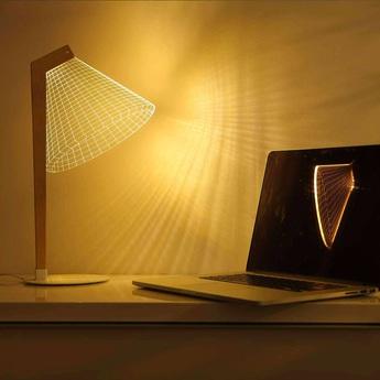 Lampe a poser 3d deski led h42 22cm studio cheha normal