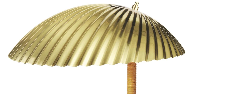 Lampe a poser 5321 laiton o27 5cm h32 5cm gubi normal