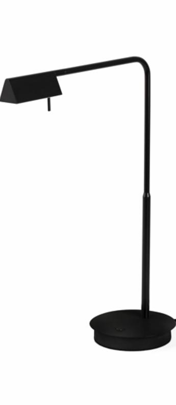 Lampe a poser academy noir led h44cm h53cm faro normal