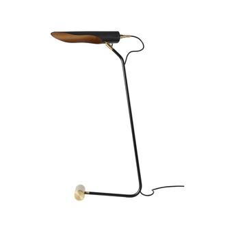Lampe a poser achille noir l17cm h82cm daniel gallo normal