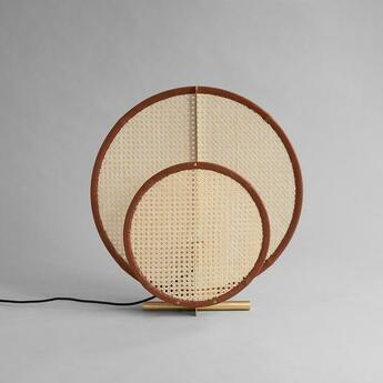Lampe a poser ad floor lamp colonial marron l60cm h62cm 101 copenhagen normal