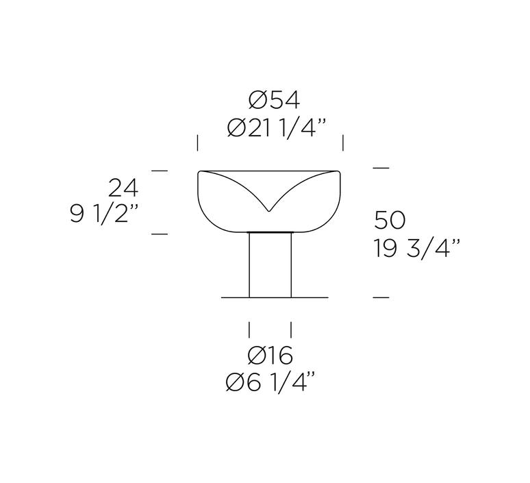 Aella t giusto toso lampe a poser table lamp  0 0011024  design signed nedgis 70725 product