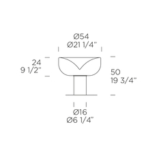 Aella t giusto toso lampe a poser table lamp  0 0011024  design signed nedgis 70725 thumb