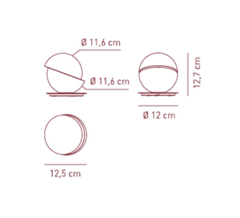Aibu givanni barbato lampe a poser table lamp  axo light ltaibuxxbc  design signed 41711 product