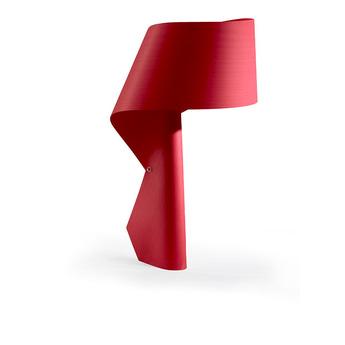 Lampe a poser air rouge h49cm lzf normal