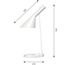 Aj arne jacobsen lampe a poser table lamp  louis poulsen 5744166056  design signed 48511 thumb