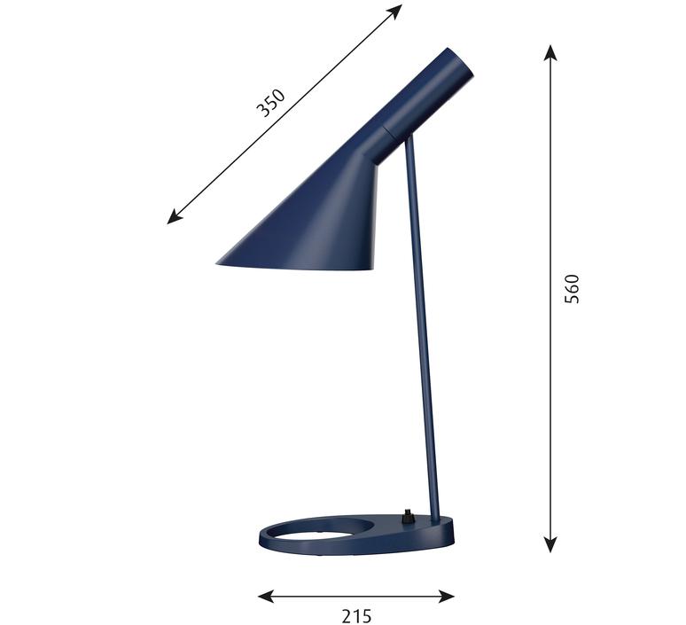 Aj arne jacobsen lampe a poser table lamp  louis poulsen 5744165659  design signed 48513 product
