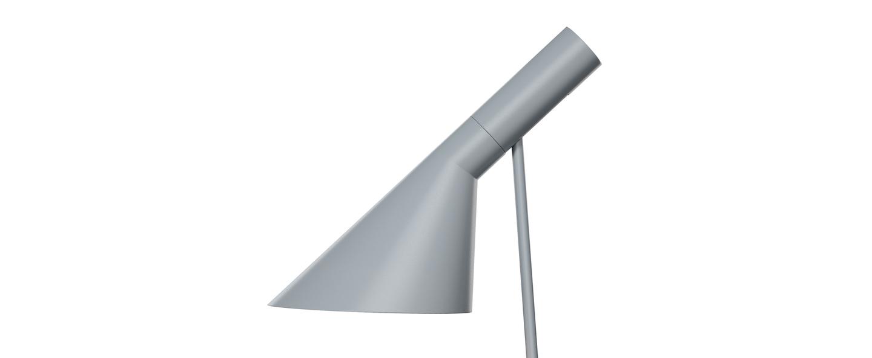Lampe a poser aj gris l21 5cm h56cm louis poulsen normal