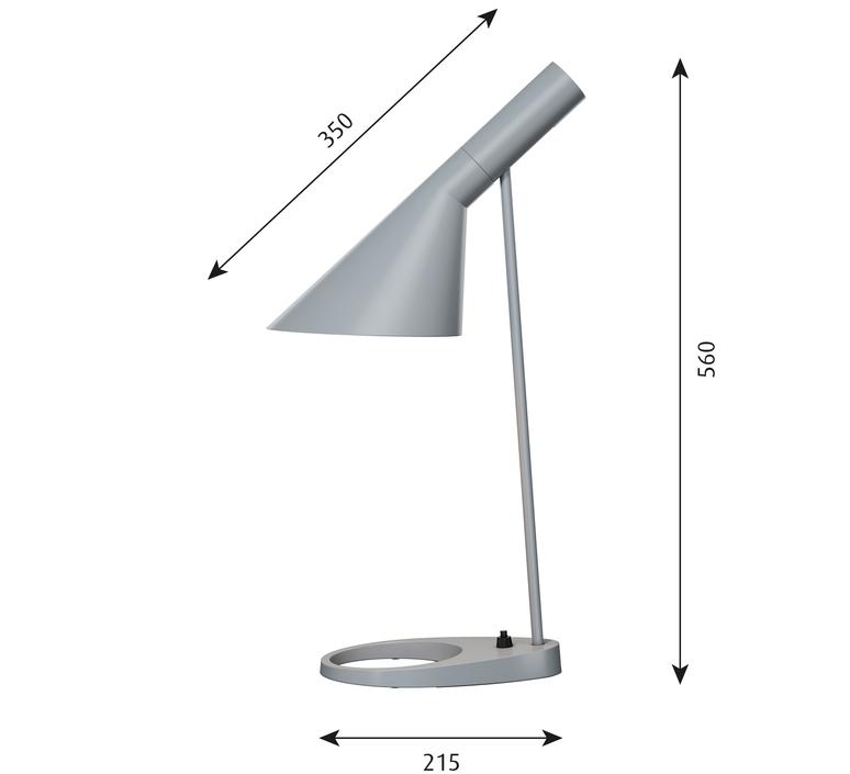 Aj arne jacobsen lampe a poser table lamp  louis poulsen 5744165675  design signed 48517 product