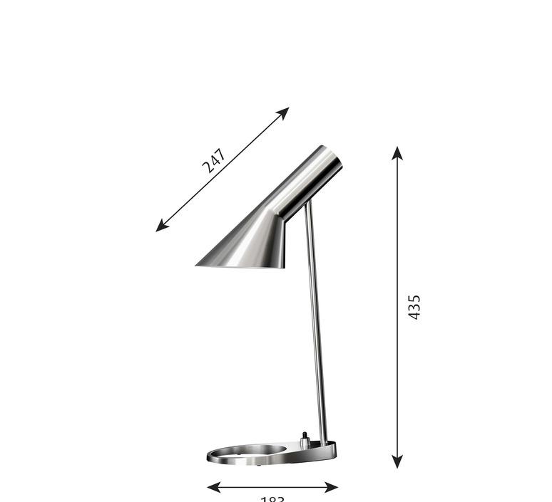 Aj mini arne jacobsen lampe a poser table lamp  louis poulsen 5744166548  design signed nedgis 82177 product