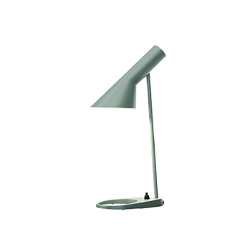 Lampe a poser aj mini bleu petrole clair l11 3cm h43 5cm louis poulsen normal